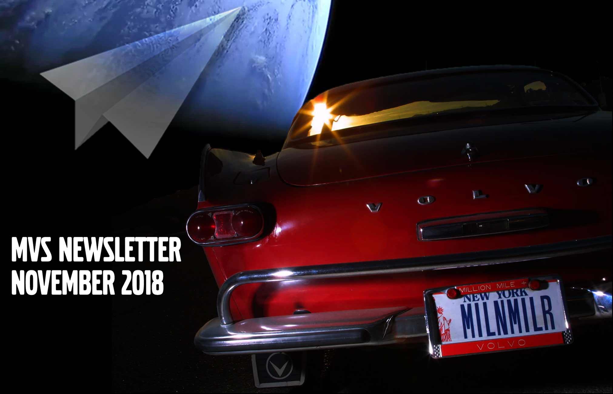 Mvs Newsletter Nov 2018 -