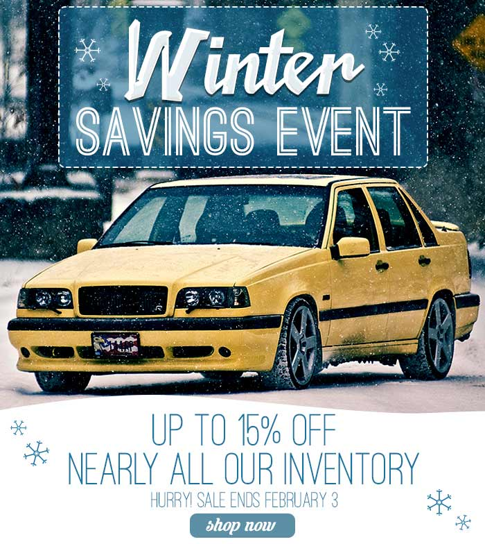 IPD Winter Special - up to 15% off nearly all inventory