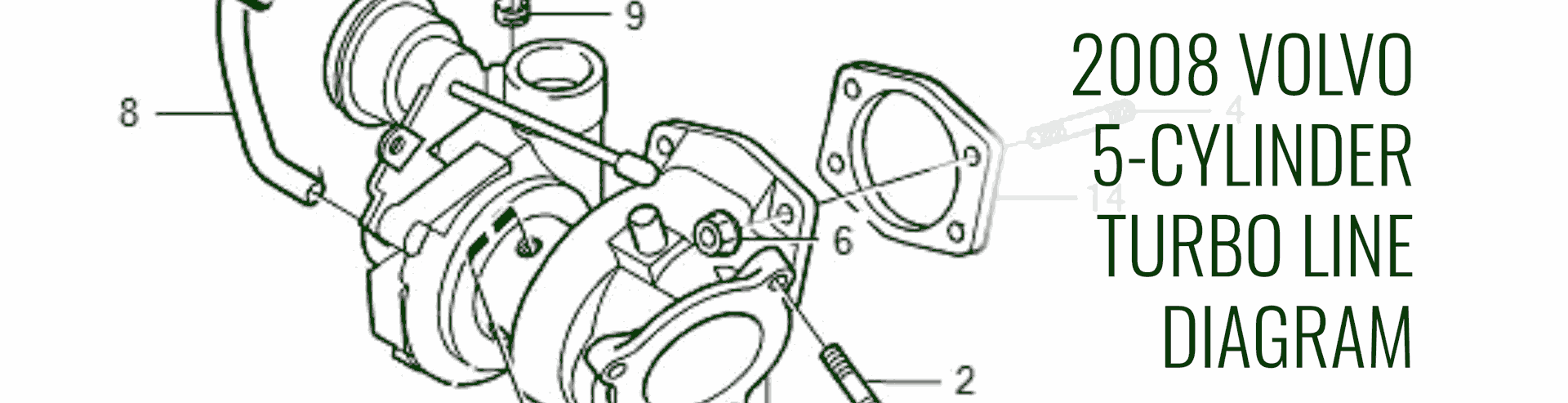 5 Cylinder Hose Routing And Parts Numbers -