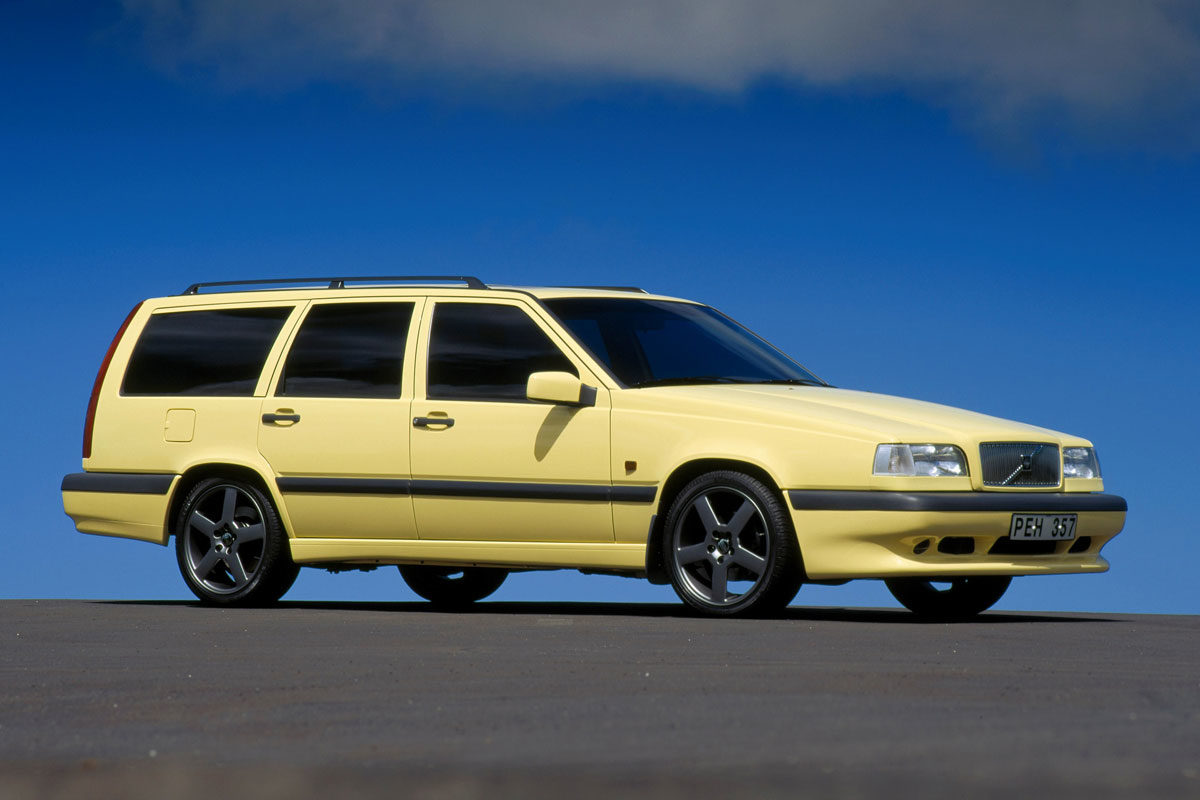 850 Cream Yellow Wagon -