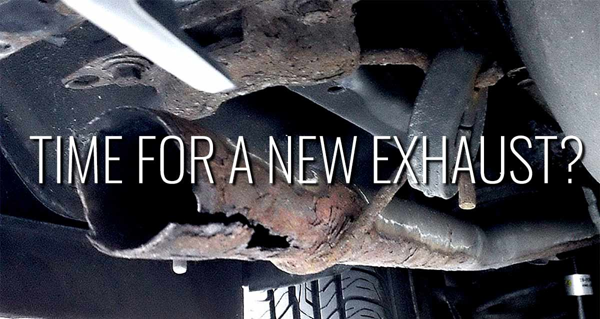 Time For A New Exhaust Starla -