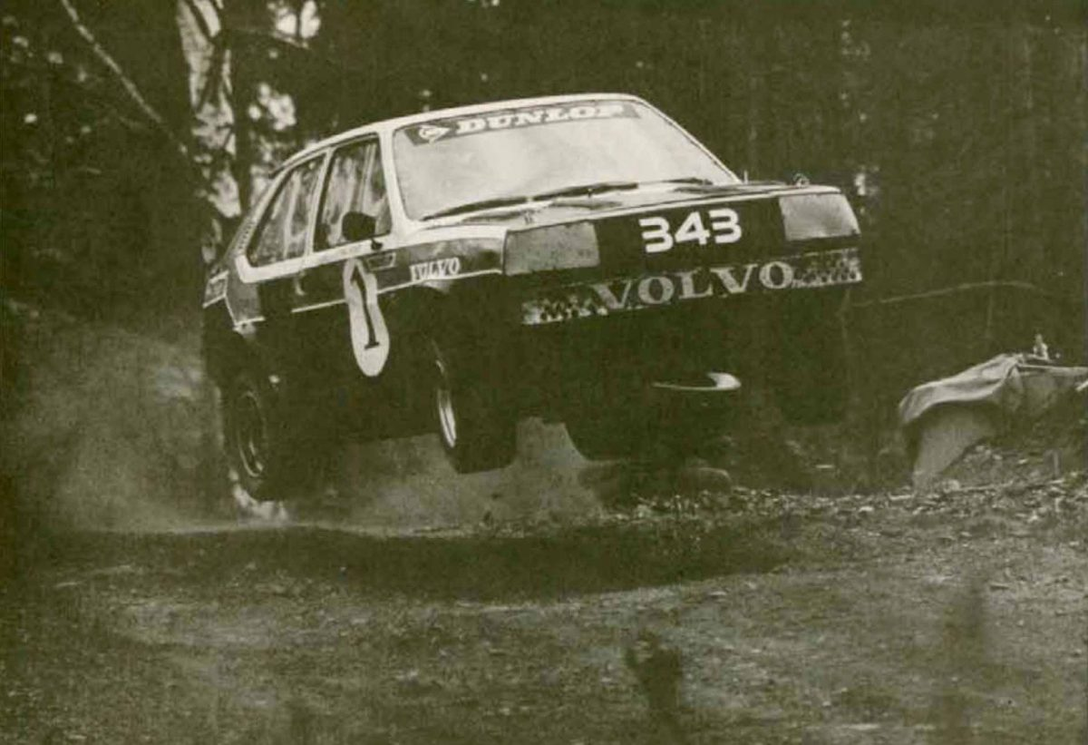 Airborne 343 Volvo Rally Car -