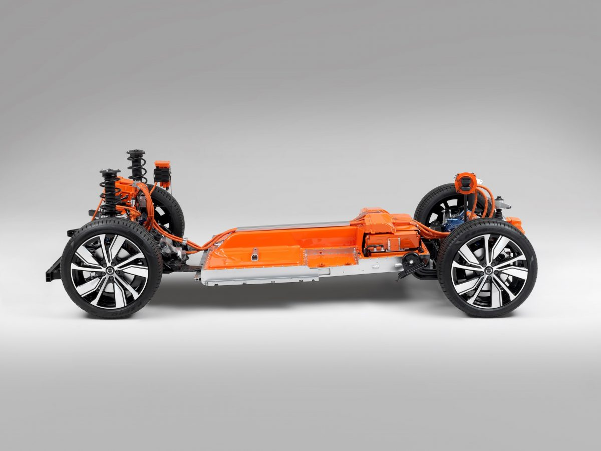 258242 The Fully Electric XC40 Suv Volvo S First Electric Car And One Of The -  Safety, Technology, Corporate, Images, Electrification, Studio, New XC40, 2019, 2020 XC40