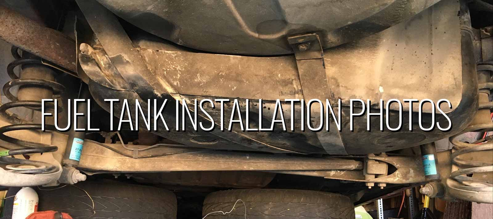Installation Photos Fuel Tank 1994 850 -