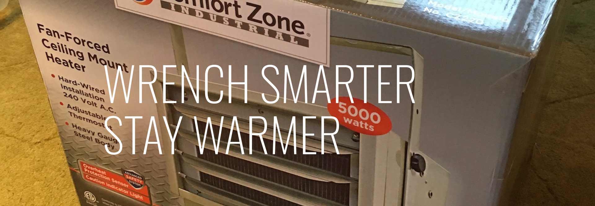 Warm Garage - How to Heat It