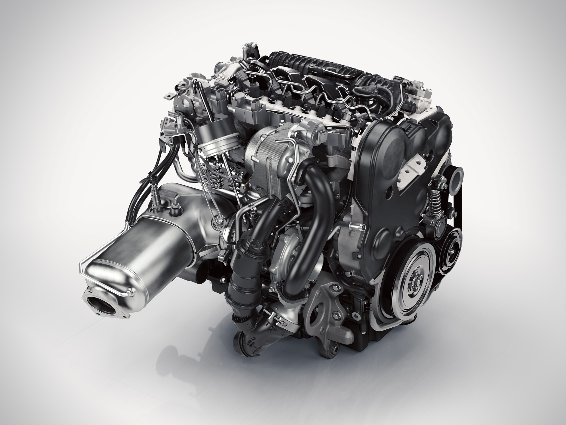 Drive E 4 Cylinder Diesel Engine D5 Rear -  2014, 2015, 2016, 2016 XC90, 2017, 2017 New S90, 2017 New V90, 2017 S60, 2017 V60, 2017 XC70, 2017 XC90, Environment, Exterior, Images, New S90, New V90, S60, Sustainability, Technology, V60, Volvo, XC70, XC90