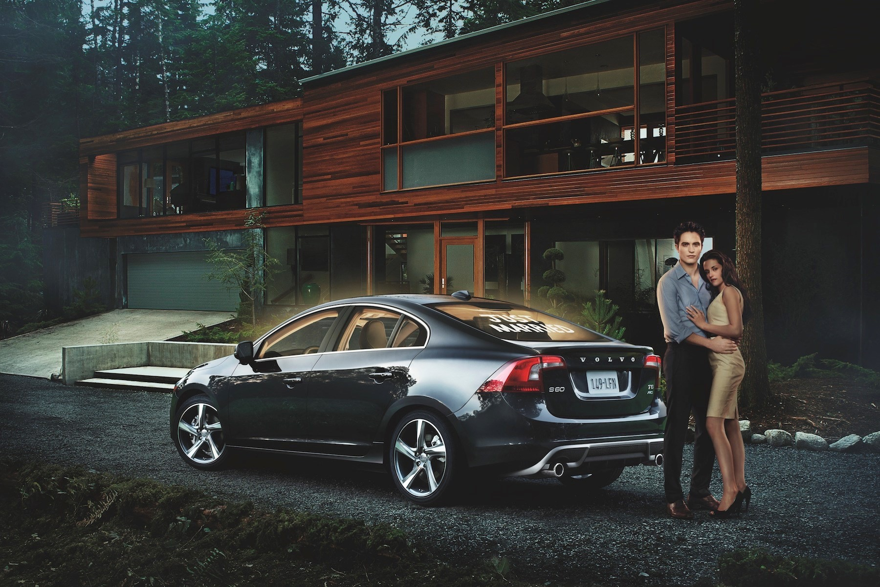Going To The Chapel In A Volvo S60  -  Volvo