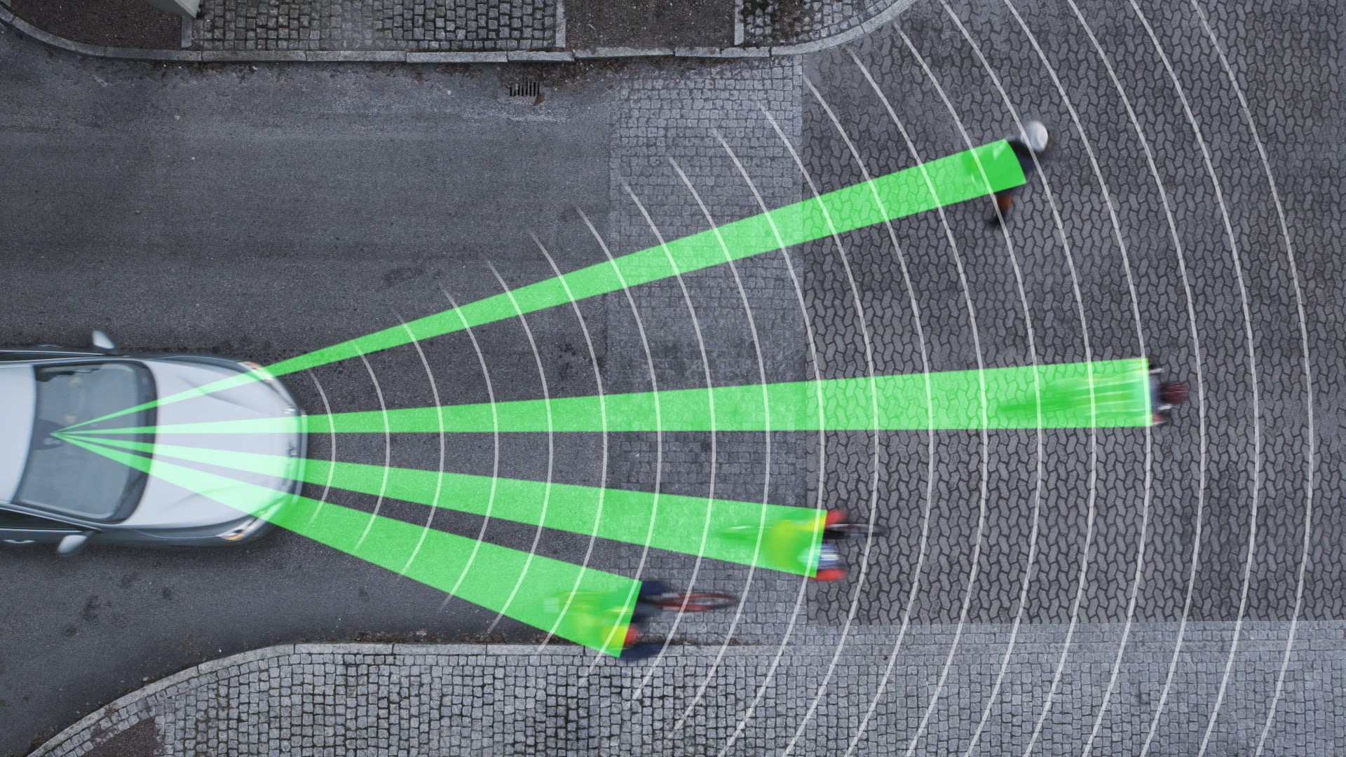 Pedestrian And Cyclist Detection With Full Auto Brake -   2013,  2014,  Images,  Other,  S80,  Safety,  Technology,  V40,  V60,  V70,  XC60,  XC70, 2013, 2014, S60, Volvo