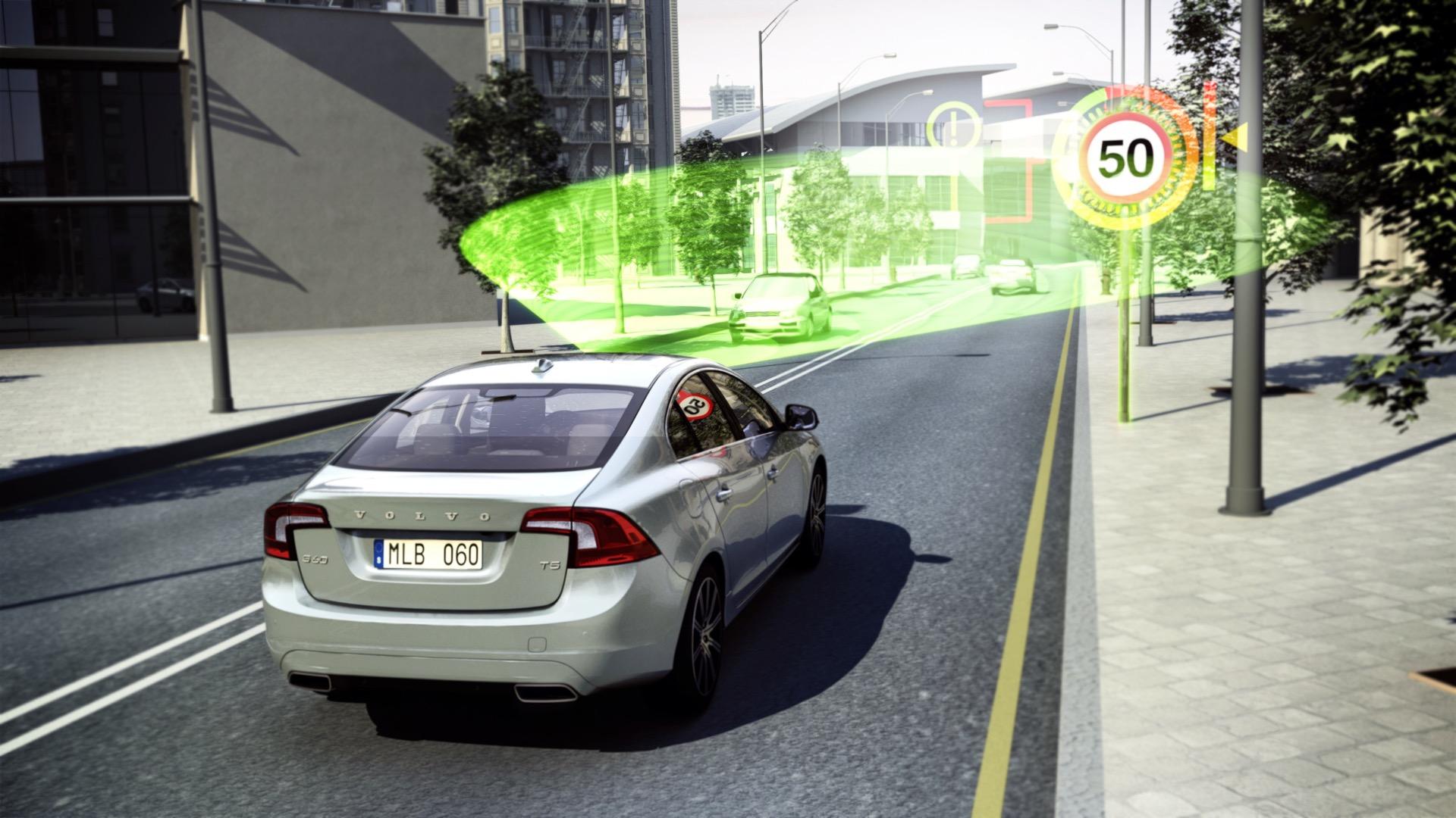 Road Sign Information -  2013, 2014, Images, S60, S80, Safety, Technology, V40, V60, V70, Volvo, XC60, XC70