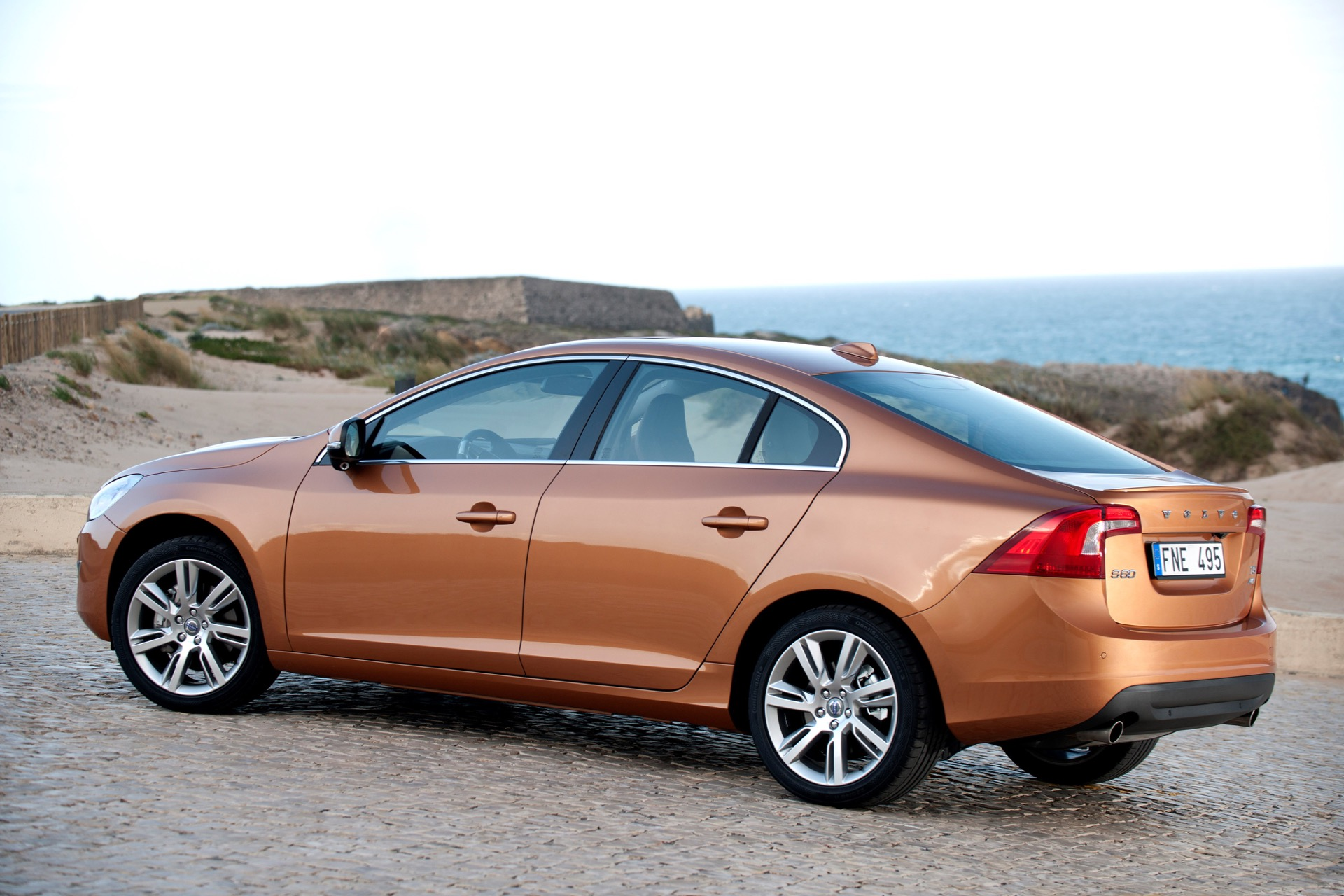 The All New Volvo S60 On The Road In The Region Of Sintra Portugal01 -  Volvo