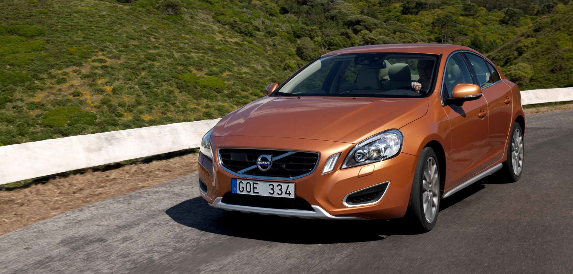 The All New Volvo S60 On The Road In The Region Of Sintra Portugal02 -  Volvo