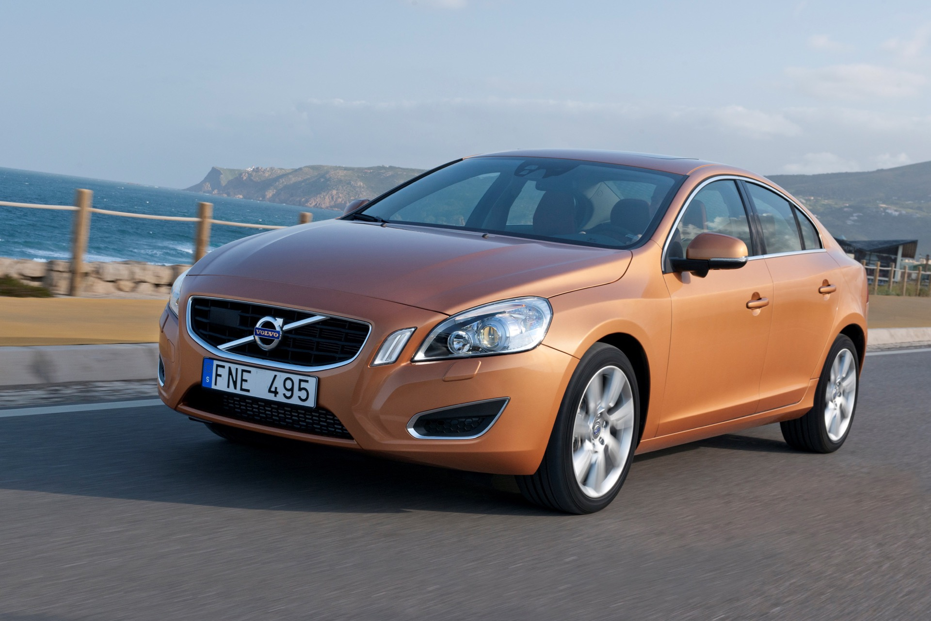 The All New Volvo S60 On The Road In The Region Of Sintra Portugal03 -  Volvo