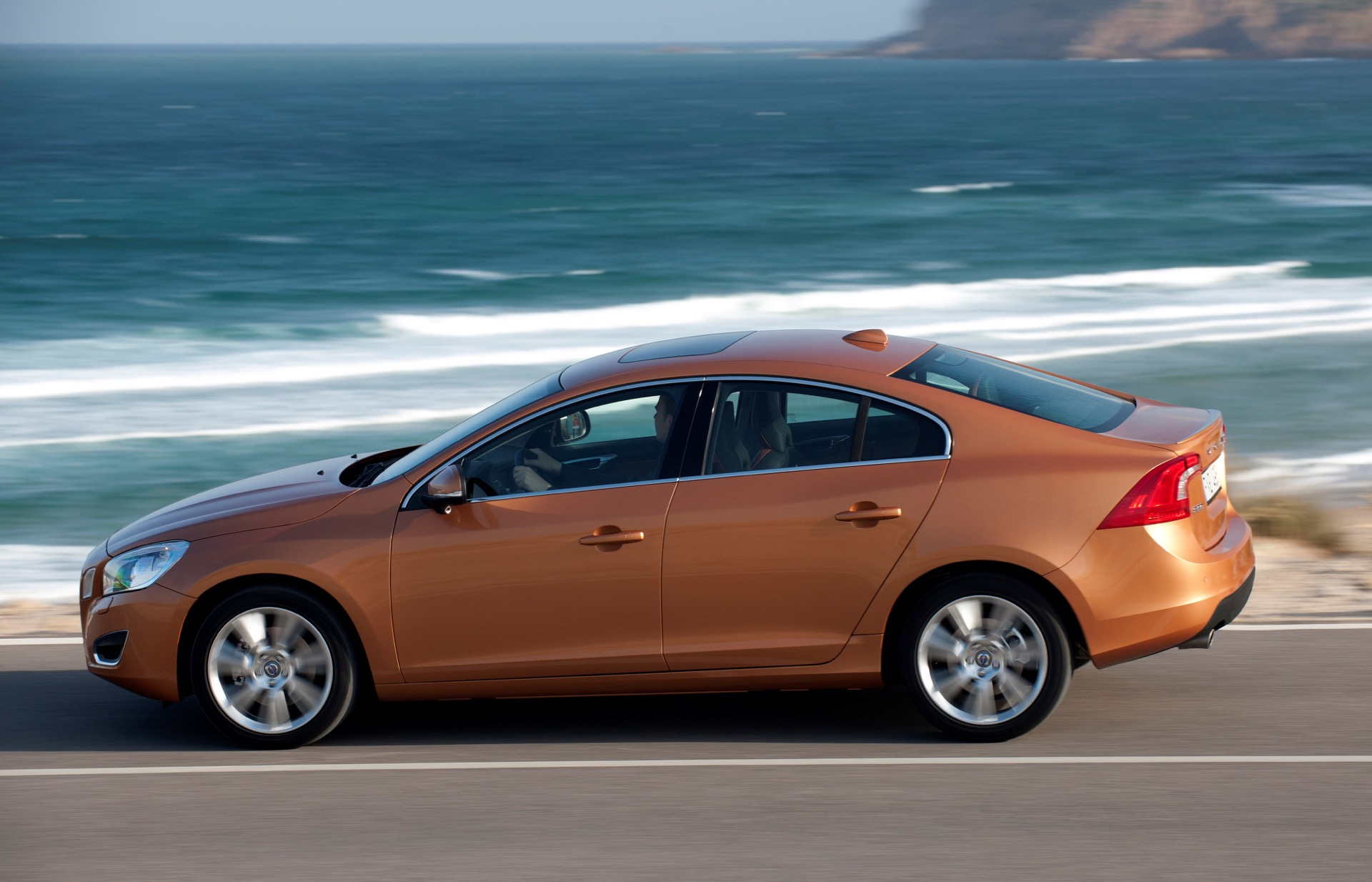 The All New Volvo S60 On The Road In The Region Of Sintra Portugal05 -  Volvo