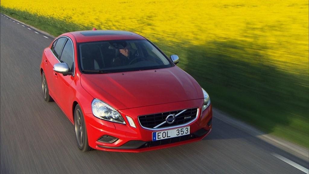 Volvo S60 Model Year Driving Footage Video Still -  Volvo