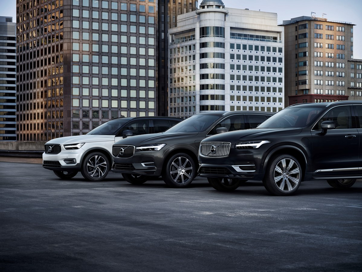 Volvo Cars' Suv Line Up -