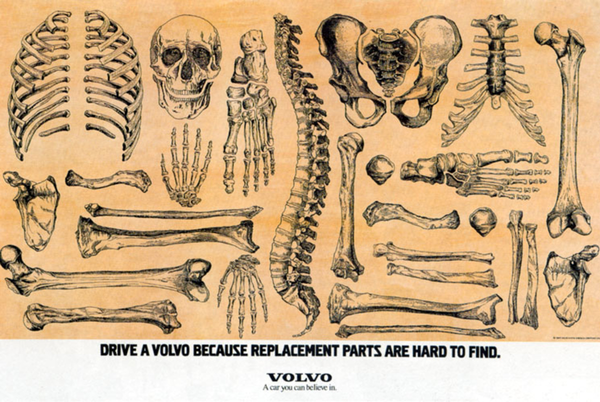 Volvo Bones Ad Replacement Parts -