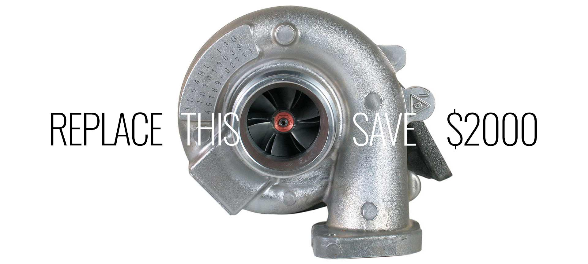 Replace Turbo Diy -