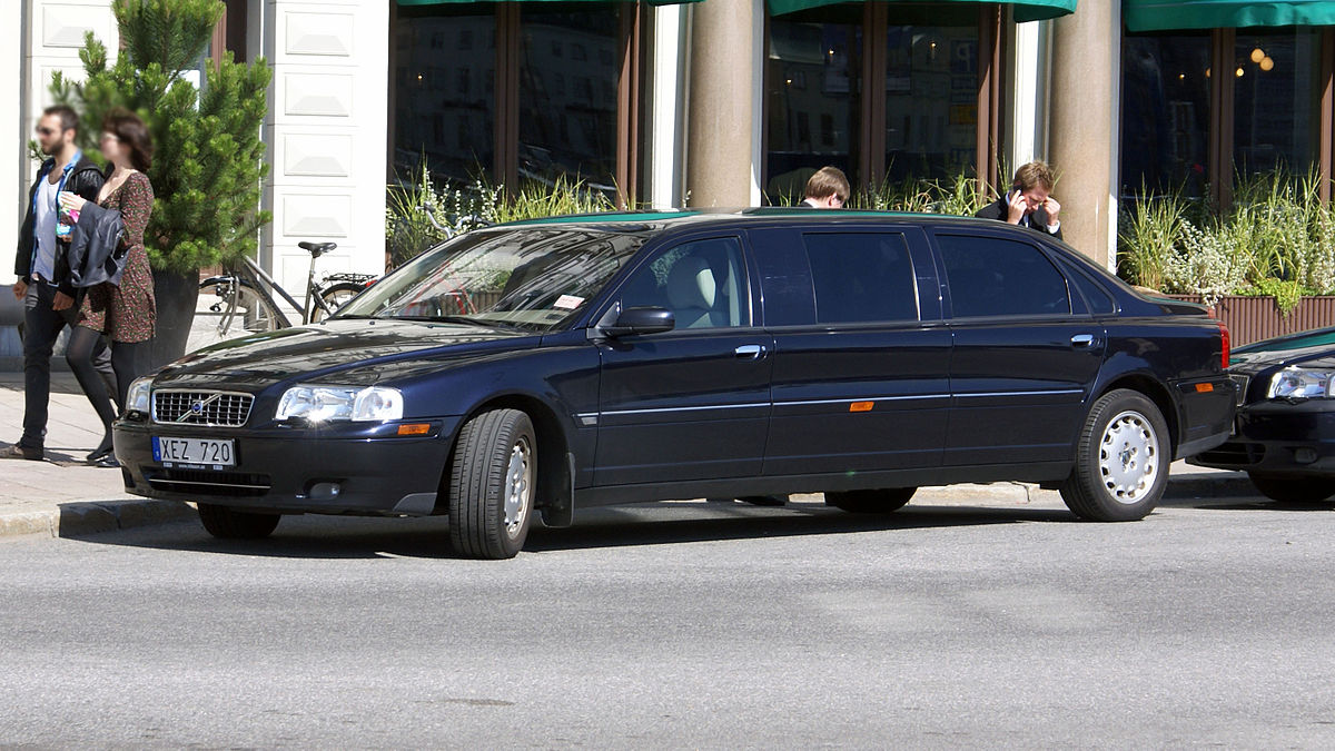 1200px Volvo S80 Ts Stretch Blue In Stockholm -