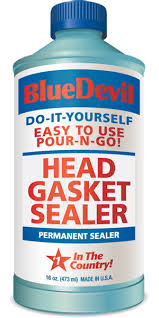 Consider BlueDevil Head Gasket Sealer if you need a less-expensive fix than a full rebuild job.