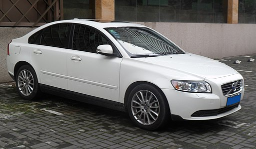 Volvo S40 M facelift photographed in Shanghai, China. Replace your own S40 & V40 spark plugs and save money - it's easy.