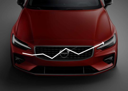 Volvo sales generic image