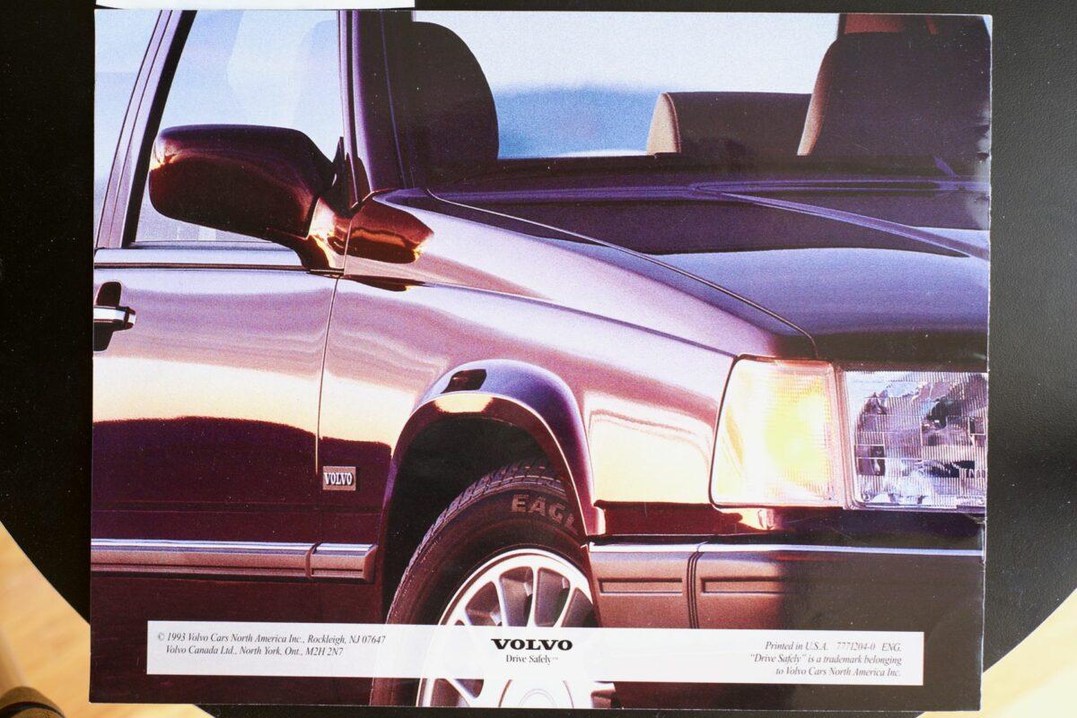 850 and 960 1994 Volvo dealer brochure 8 of 8
