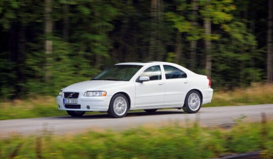Volvo S60 in white