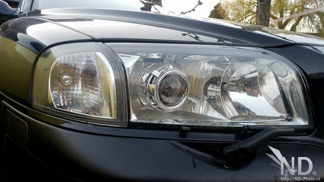 S80 with DIY LED headlights