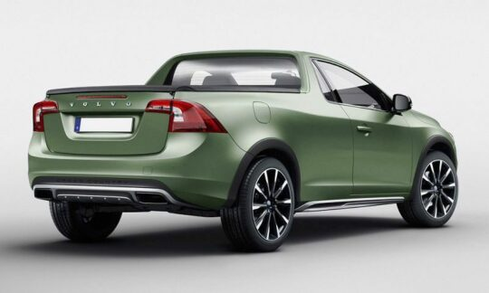 Potential Volvo pickup truck design