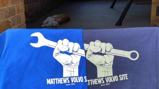 Volvo t-shirts
