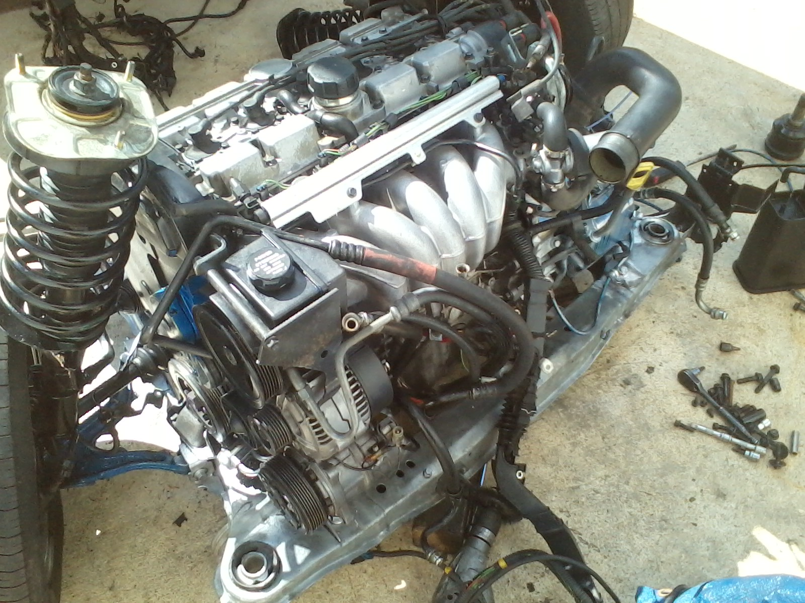 1997 850 glt engine swap wth b5254t 2 4l lpt from 1998 v70